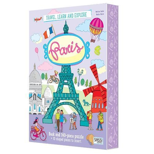 The Kids Store-SASSI SCIENCE TRAVEL LEARN AND EXPLORE - PARIS-