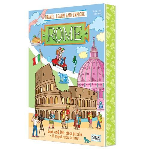The Kids Store-SASSI TRAVEL LEARN AND EXPLORE - ROME-