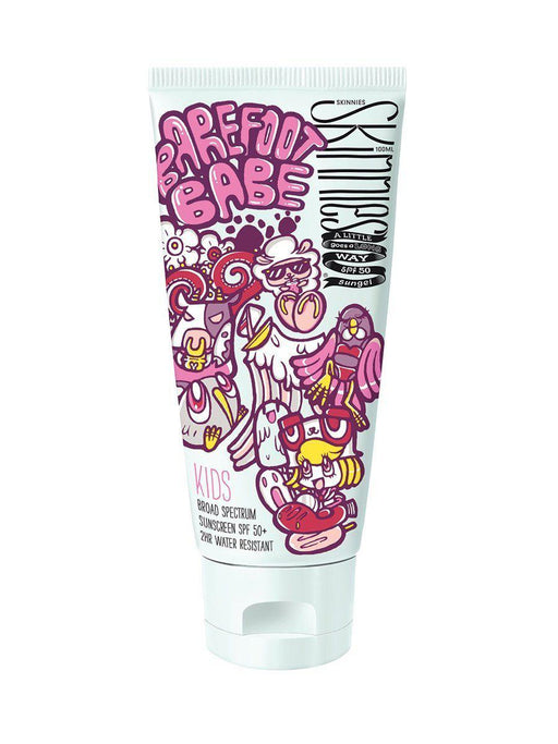The Kids Store-SKINNIES KIDS BAREFOOT BABE SPF50 100ml-