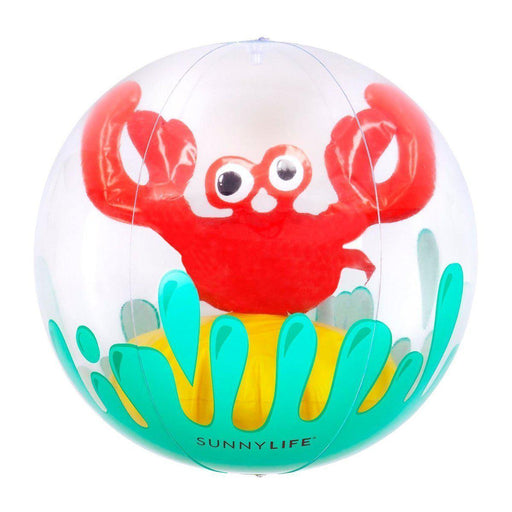 The Kids Store-SUNNYLIFE 3D INFLATABLE BALL - CRABBY-