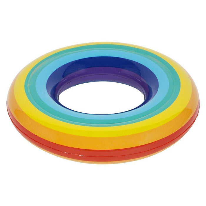 The Kids Store-SUNNYLIFE KIDDY POOL RING RAINBOW-