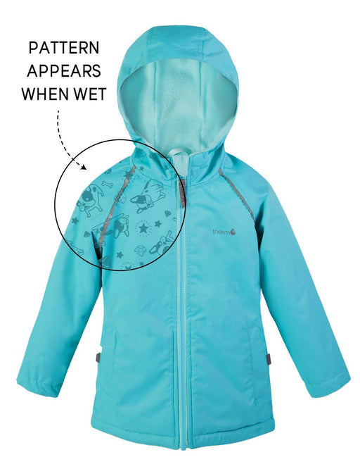 The Kids Store-THERM SPLASHMAGIC STORM JACKET - AQUAMARINE-