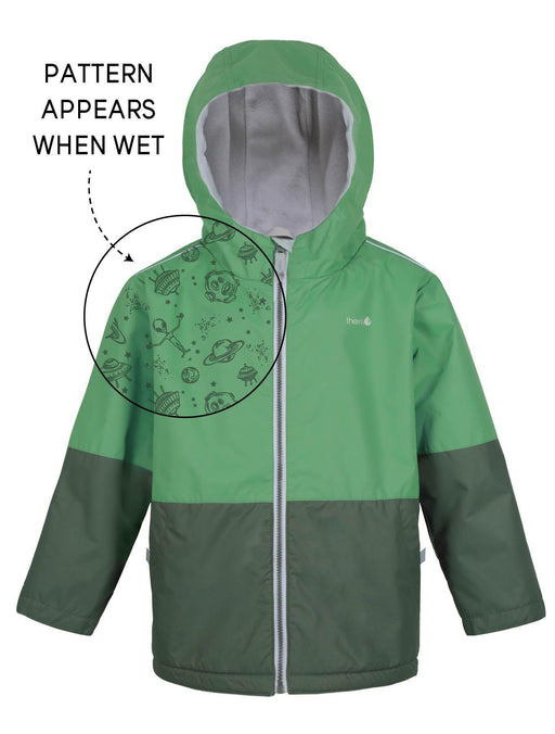 The Kids Store-THERM SPLASHMAGIC STORM JACKET - ARMY GREEN-
