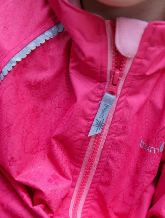 The Kids Store-THERM SPLASHMAGIC STORM JACKET - PARADISE PINK-