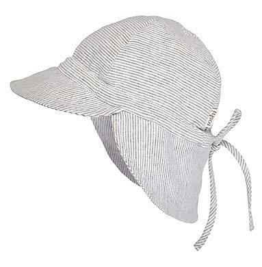 The Kids Store-TOSHI BABY FLAP CAP - DOVE-
