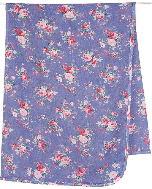 The Kids Store-TOSHI DESIGN MUSLIN WRAP - CORNFLOWER-