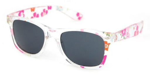 The Kids Store-UNITY KIDS SUNGLASSES - CLEAR FLORAL PRINT-
