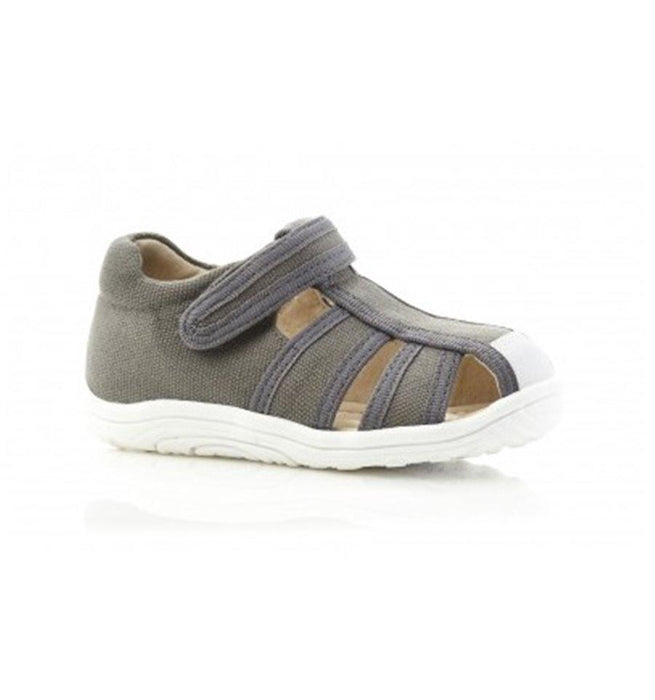 The Kids Store-WALNUT BEDFORD SANDAL - CHARCOAL-
