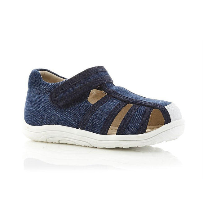 The Kids Store-WALNUT BEDFORD SANDAL - DENIM-