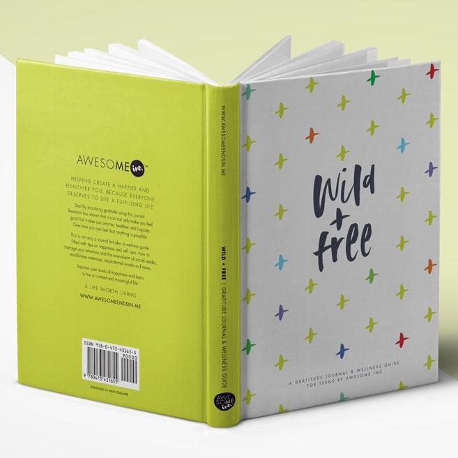 The Kids Store-WILD AND FREE TEEN JOURNAL-