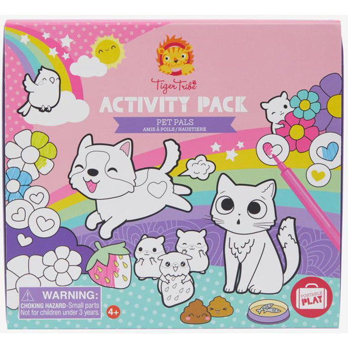 TIGER TRIBE - ACTIVITY PACK - PET PALS