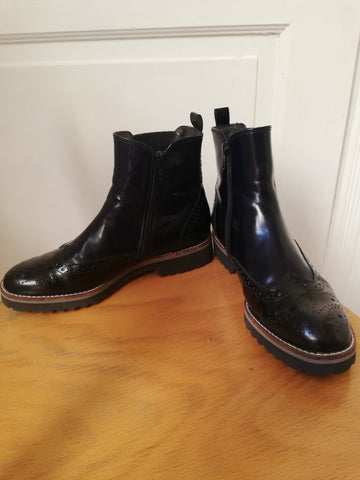 Bottines noires - pointure 37