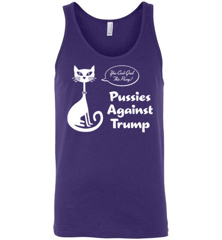 Pussies Against Trump - Tank Top