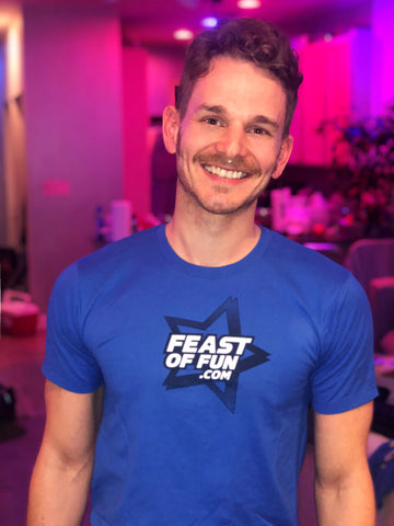 Feast of Fun Star Blue T-Shirt