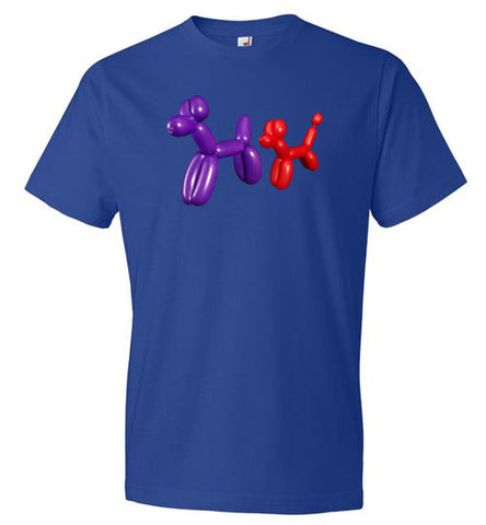 Balloon Animals Dogs Sniffing - T-Shirt