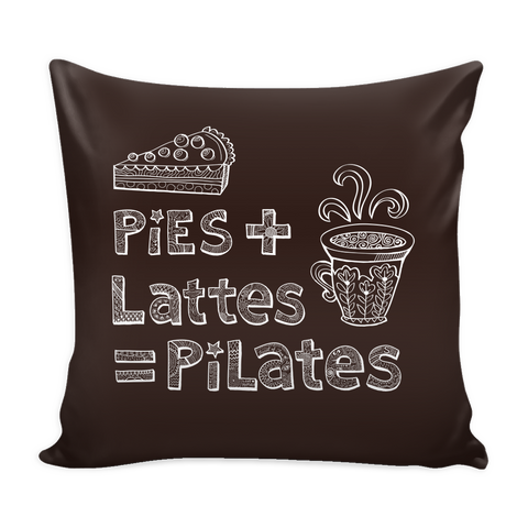 Pies + Lattes = Pilates Pillow