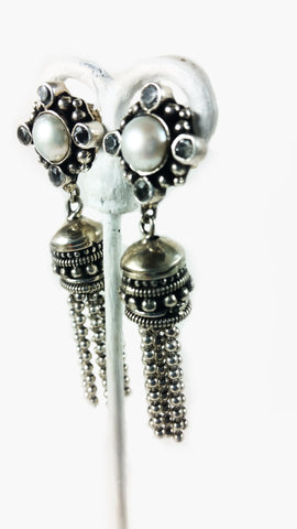 Four Points Tassel Earring - SALE