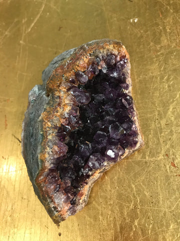 Bolivian Amethyst Palm Sized Crystal (Small)