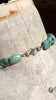 Faceted American Turquoise Chunky Necklace