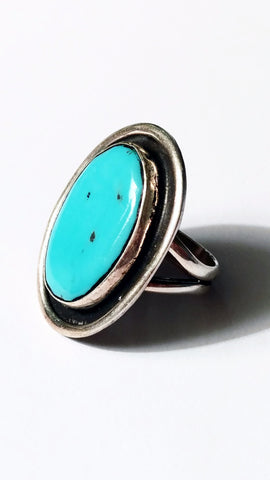 Robin's Egg American Turquoise Ring