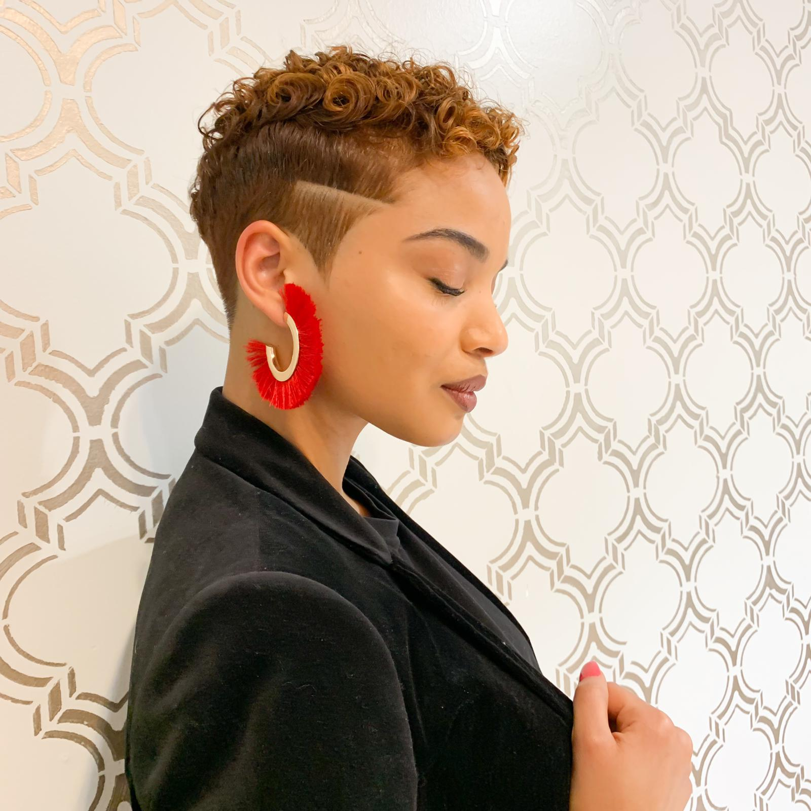 Tapered Cut (Strategic Curl Cut)
