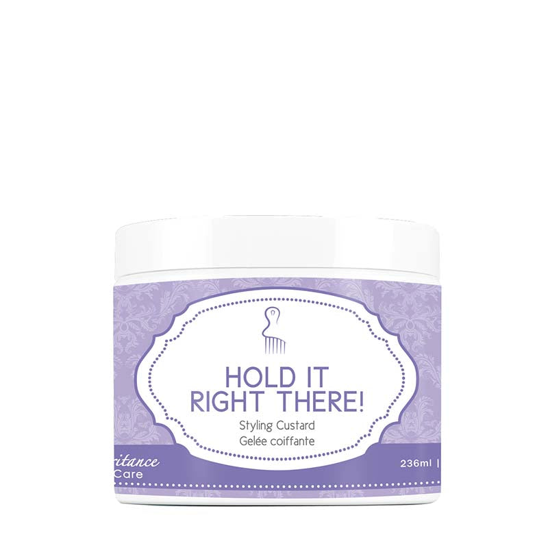 Inhairitance CurlCare HOLD IT RIGHT THERE Curly Hair Gel- 8oz