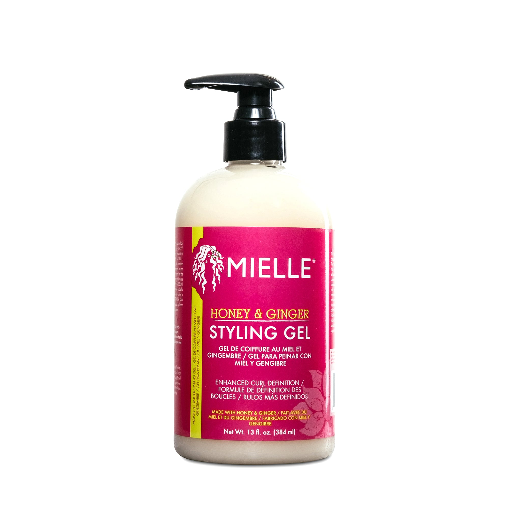 Mielle Organics Honey & Ginger Styling gel - 13 fl. Oz.