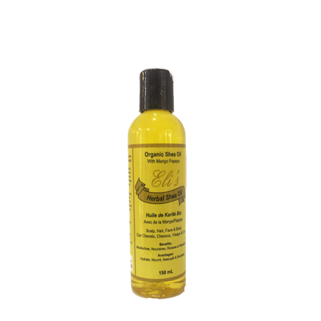 Eli's Body Shop: Organic Shea Oil with Mango Papaya