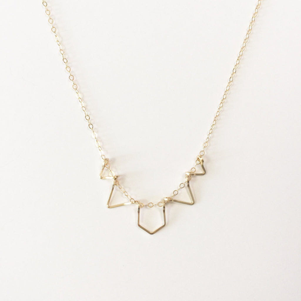 Petite Polygon Necklace