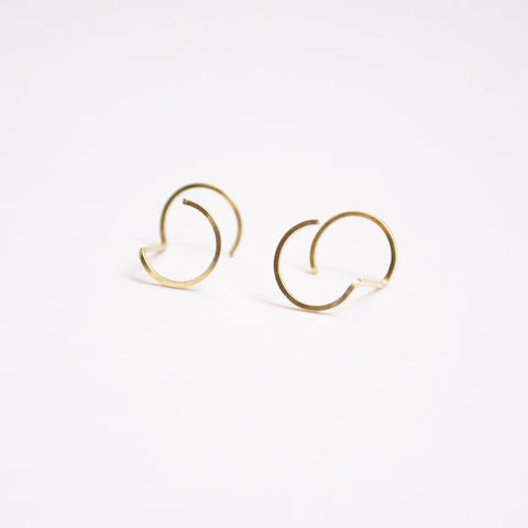 Endless Circle  Earrings