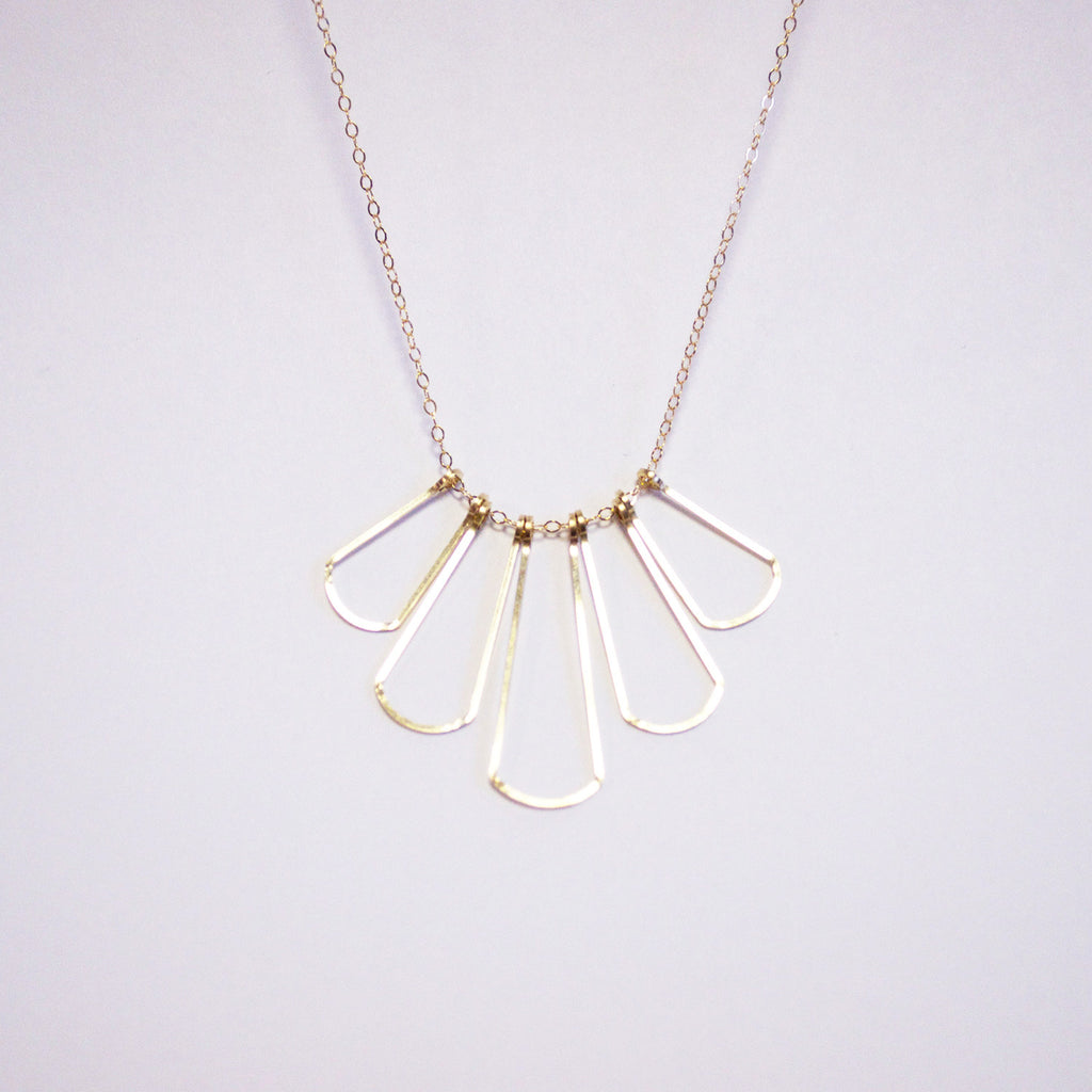 Fan Necklace
