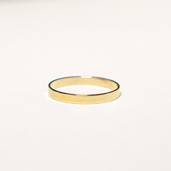Flat Medium Band Ring