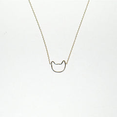 Kitty Necklace - Solid 14kt