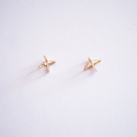 Point Stud Earrings