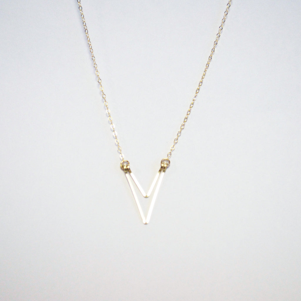 Tiny War Single Necklace