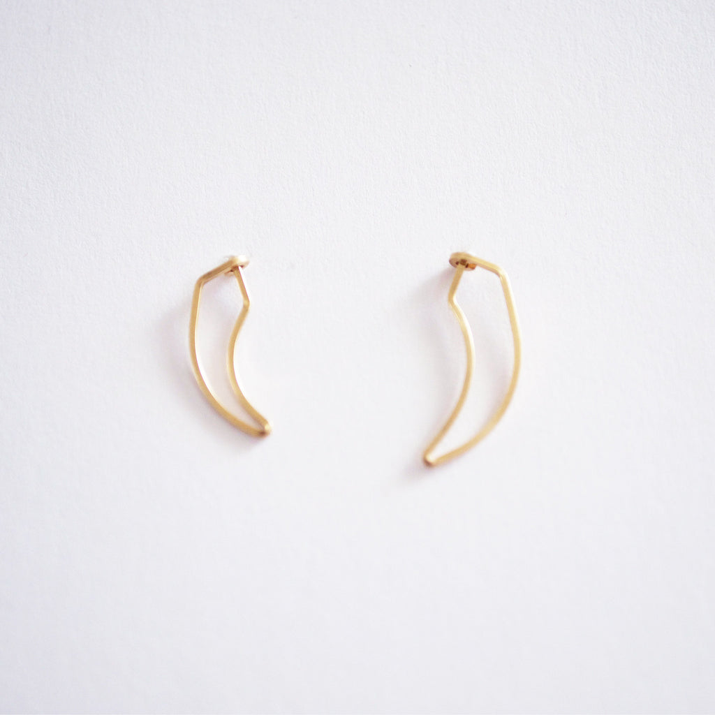 Talon Stud Earrings
