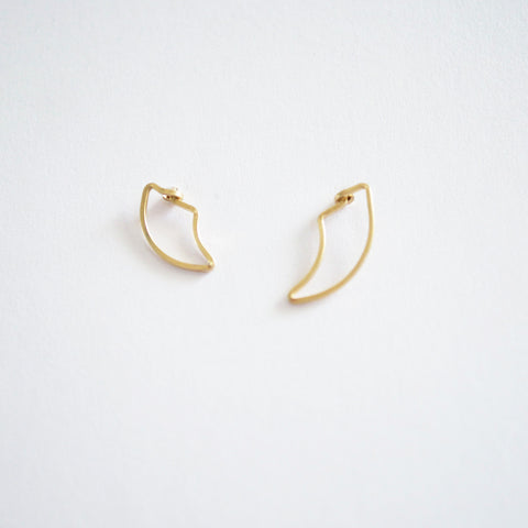 Tusk Stud Earrings