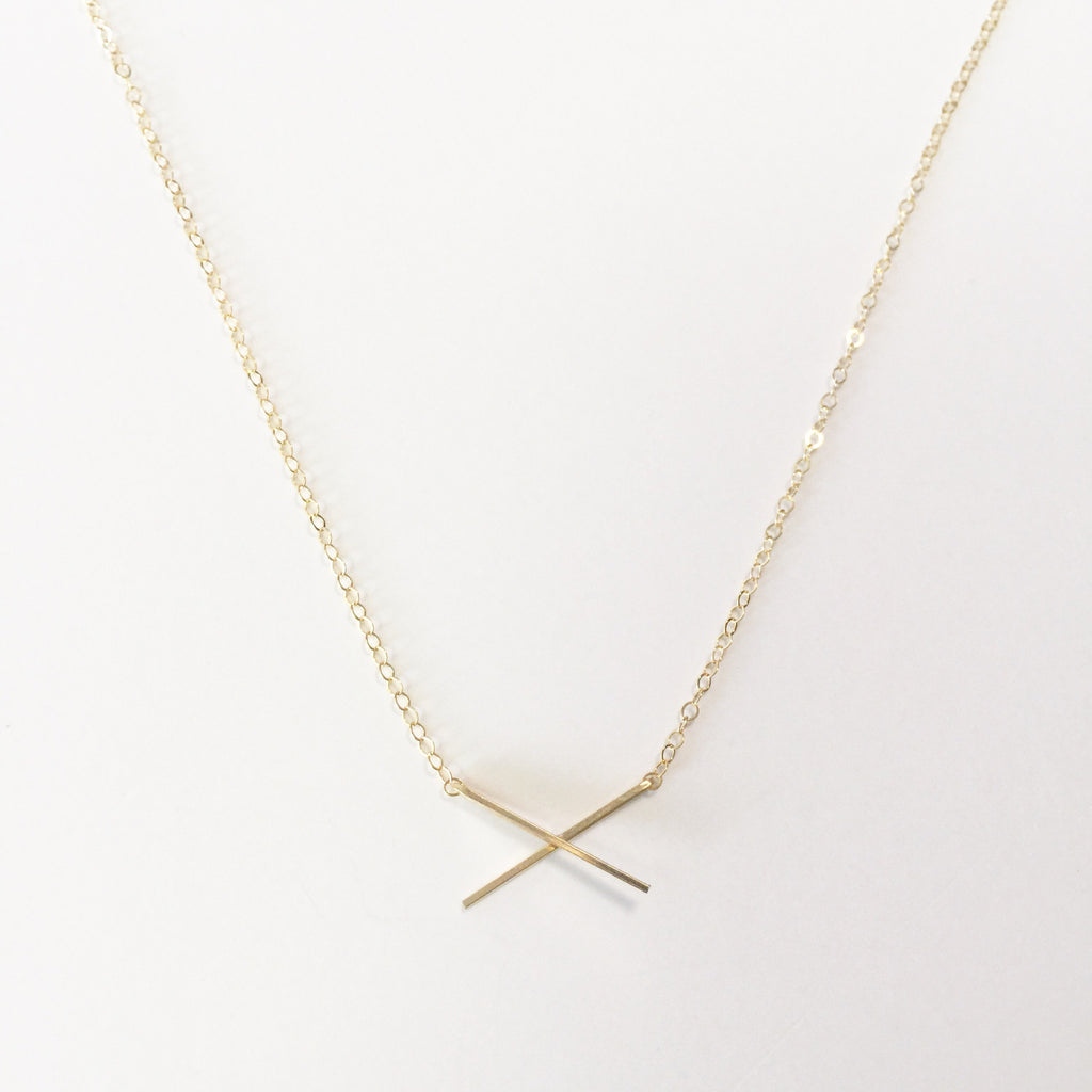 X Pendant Necklace