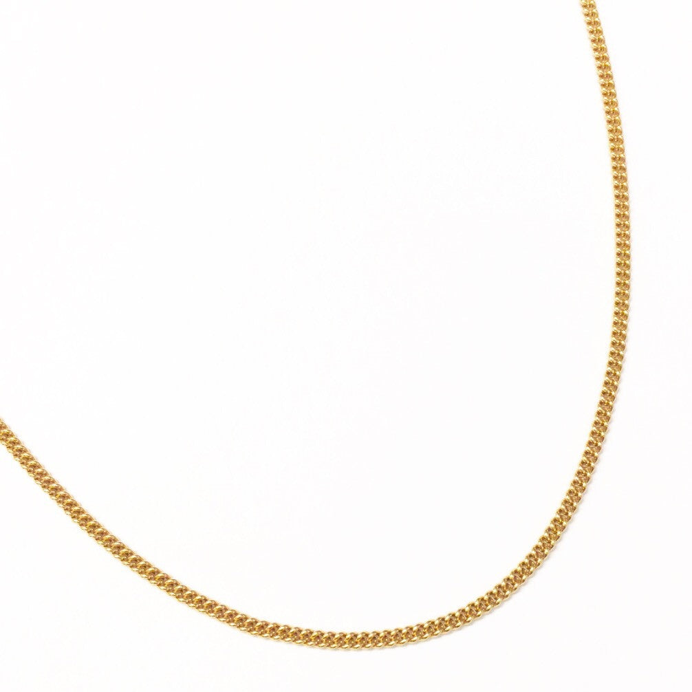 Curb Chain Choker Necklace