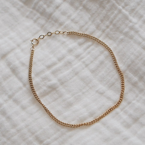 Curb Chain Choker Necklace #2
