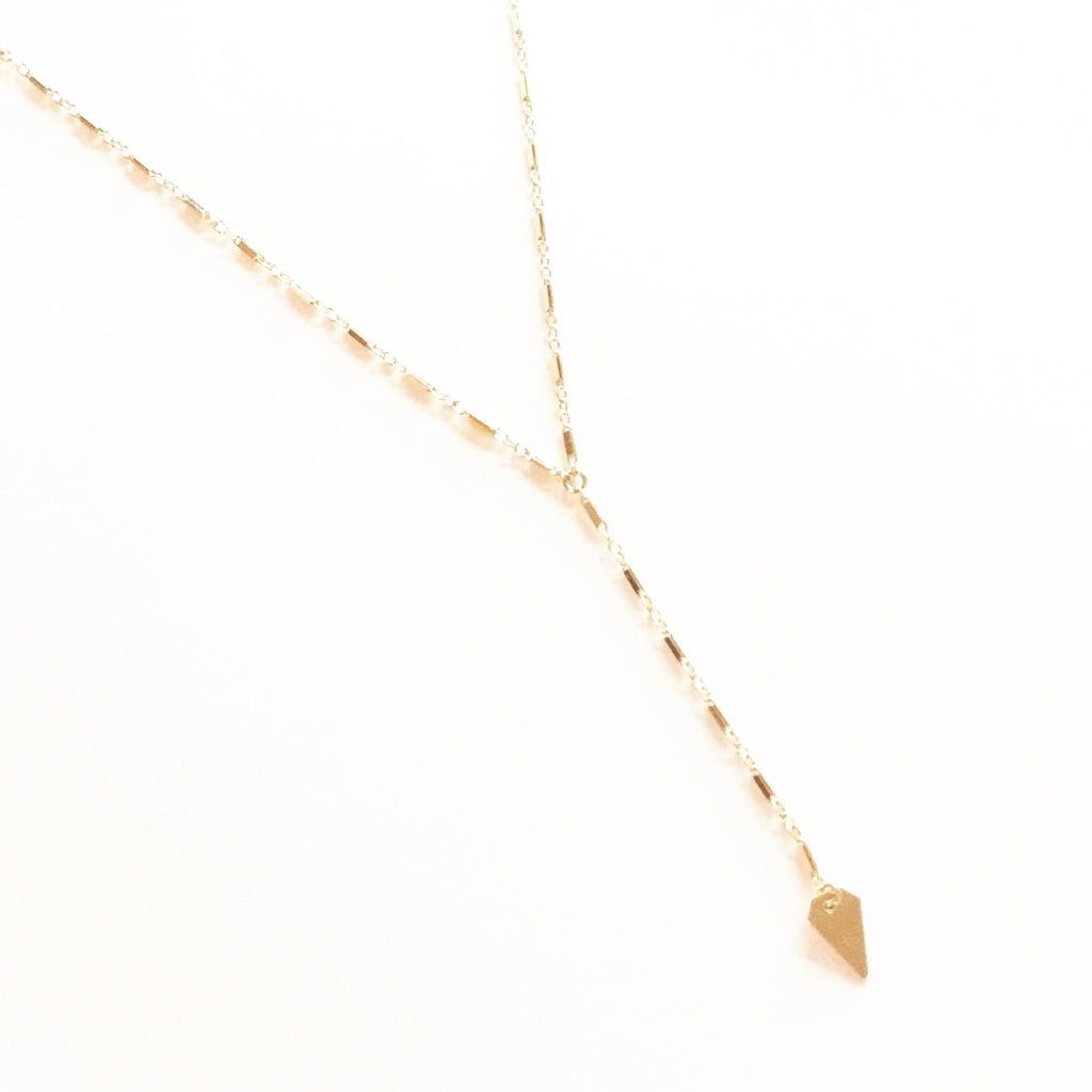 Jewel Lariat Necklace