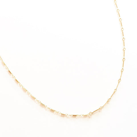 Half Bar Choker Necklace