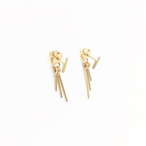 Sprinkle Studs with Sparkler Earring Backs