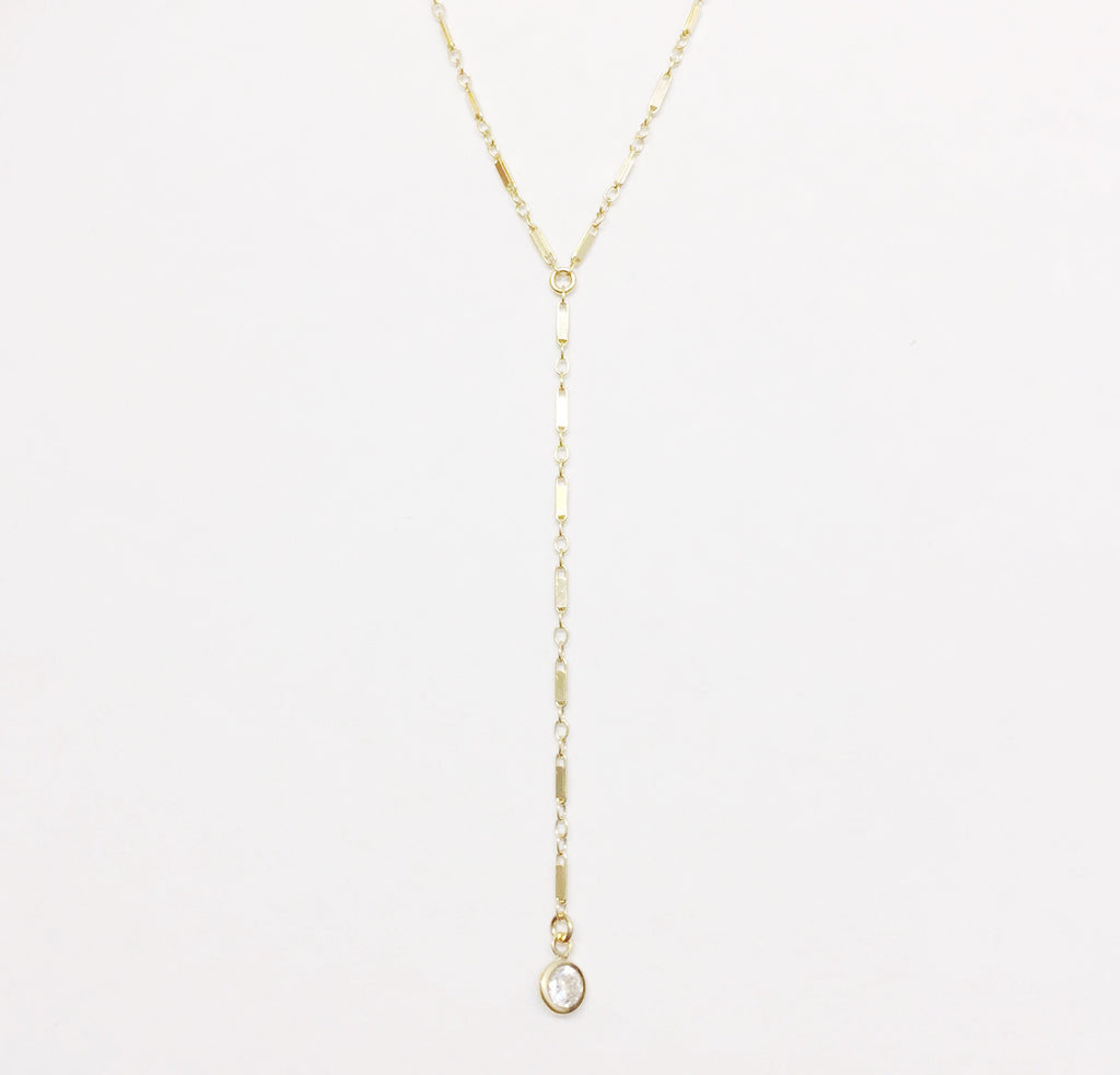 Icicle Single Lariat Necklace