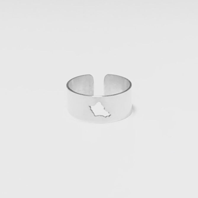 Oahu Silhouette Ring