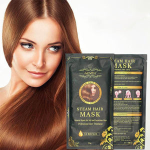 Automatic Heating Steam Hair Mask Oil