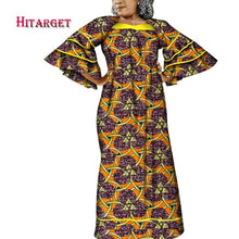 Load image into Gallery viewer, Hitarget african print dresses african dresses with Bell sleeves african clothing Dashiki women clothes cotton big size WY3937