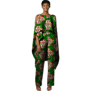 African Sets Ankara Patterns Suits For Wedding Wax Prints Tops With Pants Fashion Africa Clothing Tailor-made Dashiki Clothes