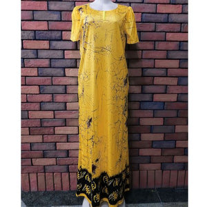 2018 african women clothing fashion africaine robe short sleeve printing long loose stripe maxi dress africa clothes