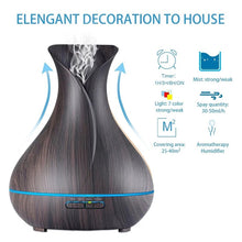 Load image into Gallery viewer, Air Humidifier With Wood Grain